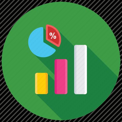 Analytics, pie graph, dashboard, data visualization, pie chart icon