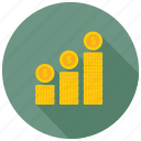 business growth, economy grow, financial growth, profit, progress icon
