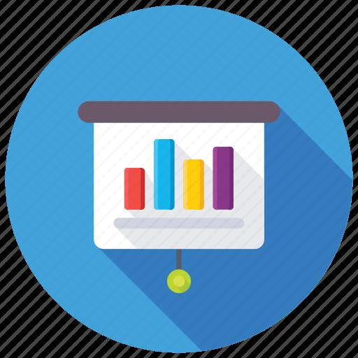 analytics reporting, business analysis, business graph, graphic presentation, statistics icon