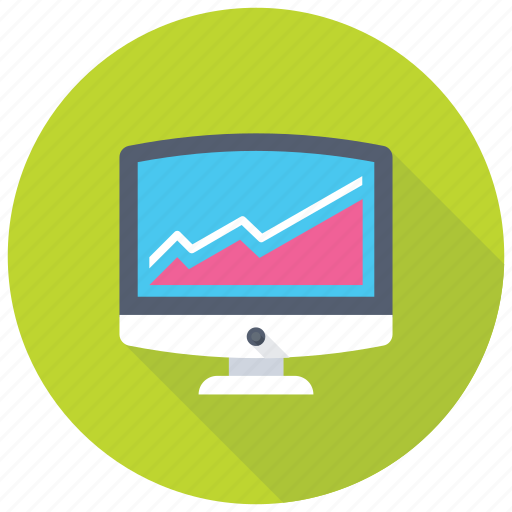 business dashboard, infographic graph, market research, web analytics, web ranking icon