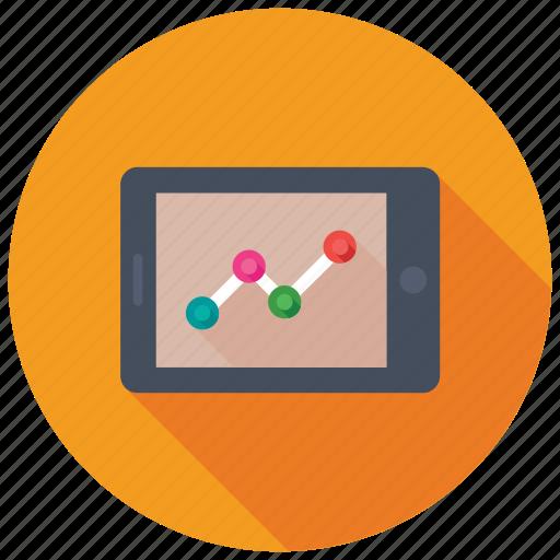 data visualization, infographics dashboard, mobile app, mobile graph, mobile ui icon