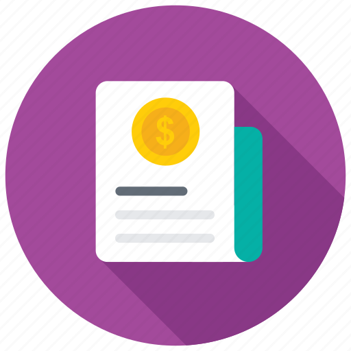 business analysis, business report, financial statement, sales report, stock report icon