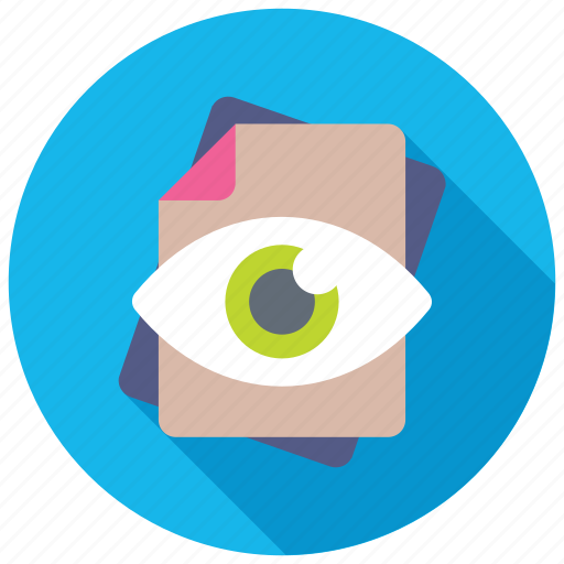 document review, document tracking, file check, file review, quality assurance icon