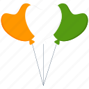 ballon, birthday, india, party, republic day icon