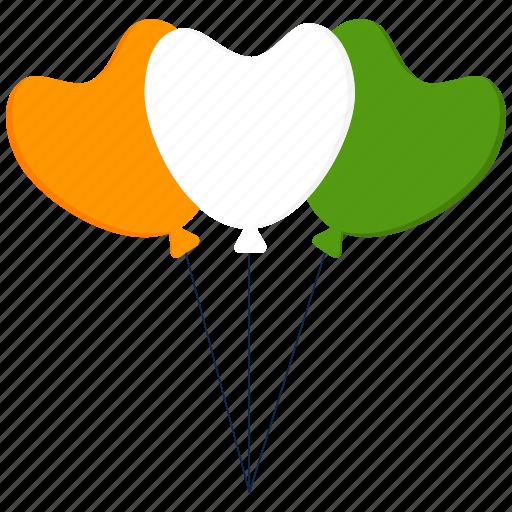 ballon, birthday, india, party, republic day icon