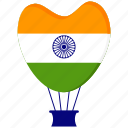 india, republic day icon