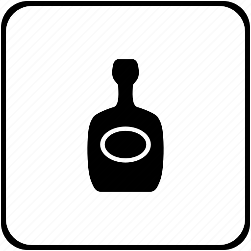 alcohol, bar, bottle, cognac, drink, wine icon