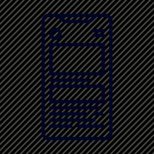 device, responsive, smartphone, ui, web design icon