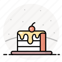cake, dessert, food, gastronomy, sweets icon