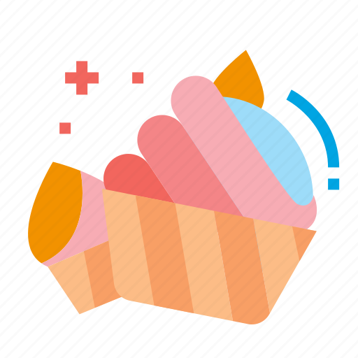 candy, cupcake, dessert, sweets icon