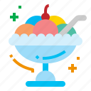 cream, dessert, ice, sweets icon