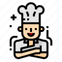 avatar, chef, cook, restaurant icon