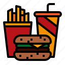 drink, fastfood, food, frenchfries icon