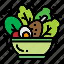 healthy, lettuce, salad, vagetable