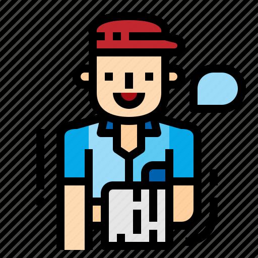 avatar, restaurant, service, waiter icon