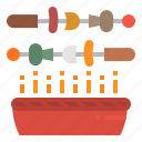 bbq, camp, food, grill, party icon