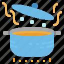 boil, boiling, cooking, pot, restaurant