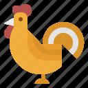 animals, bird, chicken, farm, food icon