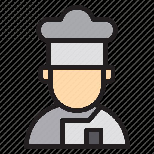 Chef, cook, cooking, kitchen, restaurant icon - Download on Iconfinder
