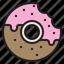 chocolate, dessert, donut, sweet, sweets