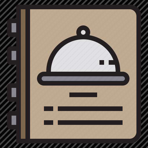 cooking, food, list, menu, restaurant icon