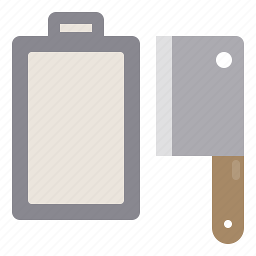 boardcleaver, chopping, cooking, food, kitchen, restaurant icon