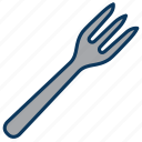 cutlery, food, fork, restaurant icon