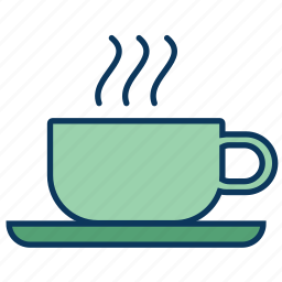 coffee, cup, cup of coffe, cup of te, hot beverage icon
