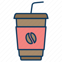 coffe, coffe to go, cup of coffee, milkshake icon