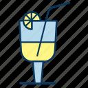 beverage, cocktail, drink, glass, lemonade
