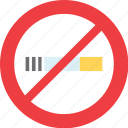 banned, cigarrette, no, sign, smoke, smoking icon