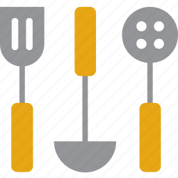 cooking, kitchenware, ladle, skimmer, tool, turner, utensil icon