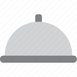 restaurant, serving, steel, tray icon