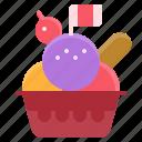 dessert, element, icecream, restaurant, scoops icon