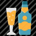 alcohol, beverage, champagne, drink, element, restaurant
