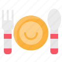 dish, element, food, fork, kitchen, restaurant, spoon icon
