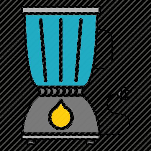 equipment, juicing, kitchen, kitchenware, machineblender, restaurant icon