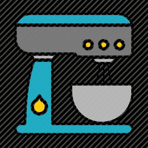 equipment, kitchen, kitchenware, mixer, restaurant icon