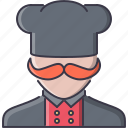 cafe, chief, cook, cooking, kitchen, restaurant icon