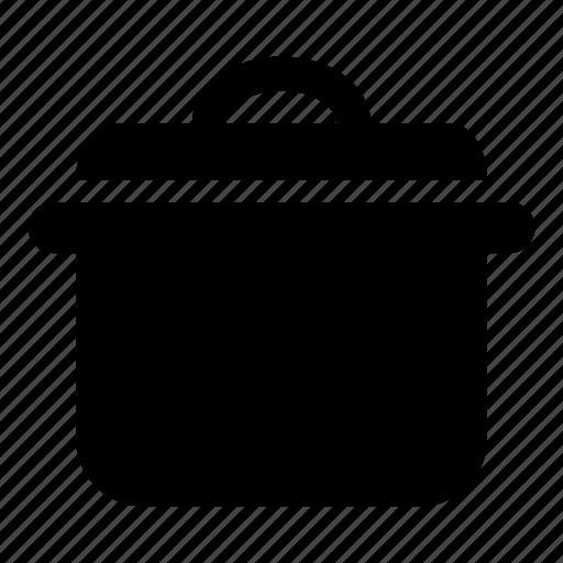 cooking, food preperation, hot pot, kitchenware, pot, restaurant, saucepan icon