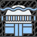 deli, food, hamburger, restaurant, sandwich, store icon