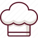 cartoon, chef, cook, cooking, hat, restaurant icon