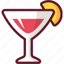 alcohol, bar, cartoon, cocktail, drink, glass icon