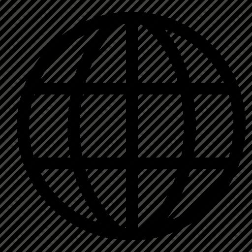 Globe Internet Personal Website World Icon