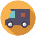 commerce, delivery, retail, shipping, transport, van, vehicle icon