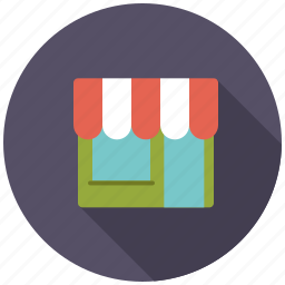 awning, commerce, retail, shop, shopping, store, trade icon