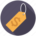 commerce, dollar sign, price tag, retail, shopping, trade, sale icon