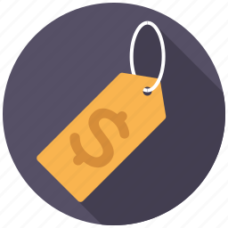 commerce, dollar sign, price tag, retail, sale, shopping, trade icon
