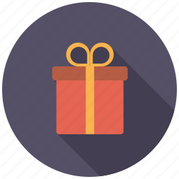 commerce, gift, gift box, gift wrapping, retail, shopping, trade icon
