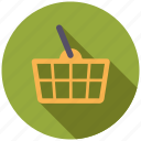 basket, commerce, retail, shop, shopping, shopping basket, trade icon